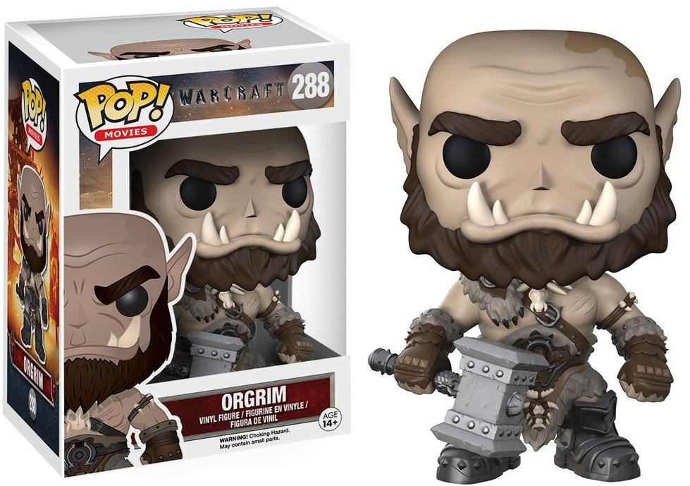 Фигурка Funko POP Movies Warcraft: Orgrim (9,5 см)Фигурка Funko POP Movies Warcraft: Orgrim создана по мотивам приключенческого фильма, действие которого происходит в вымышленной вселенной Warcraft.<br>
