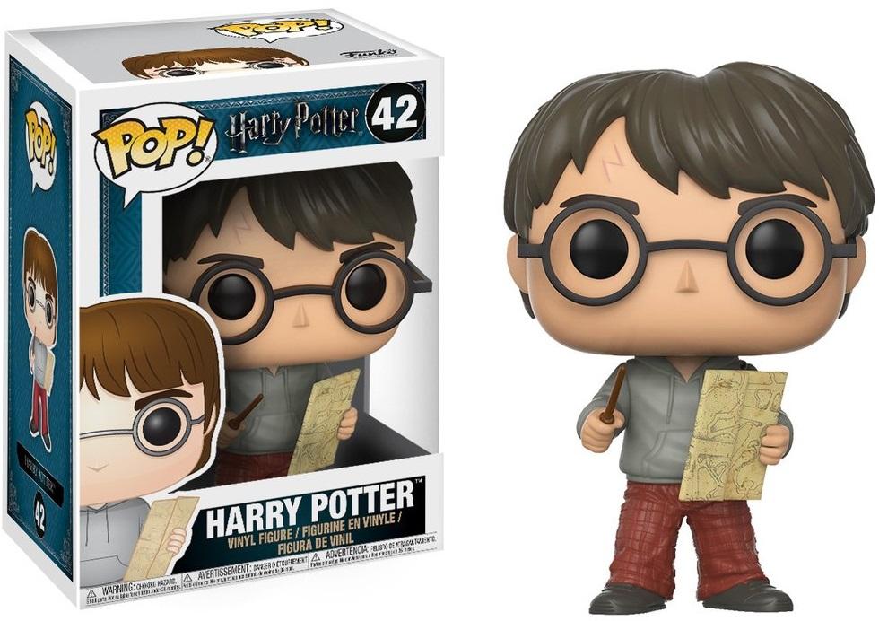 Фигурка Funko POP: Harry Potter – Harry With The Marauders Map (9,5 см) фигурка funko pop vinyl harry potter harry potter