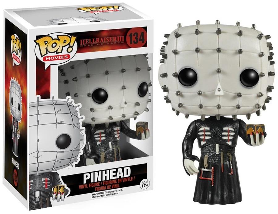 Фигурка Funko POP Movies Hellraiser: Pinhead (9,5 см)Фигурка Funko POP Movies Hellraiser: Pinhead создана по мотивам культового британского мистического фильма ужасов 1987 года «Восставший из ада».<br>