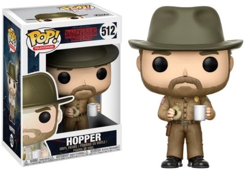 Фигурка Funko POP Television Stranger Things: Hopper (9,5 см)Фигурка Funko POP Television Stranger Things: Hopper создана по мотивам американского научно-фантастического сериала, созданного братьями Даффер.<br>
