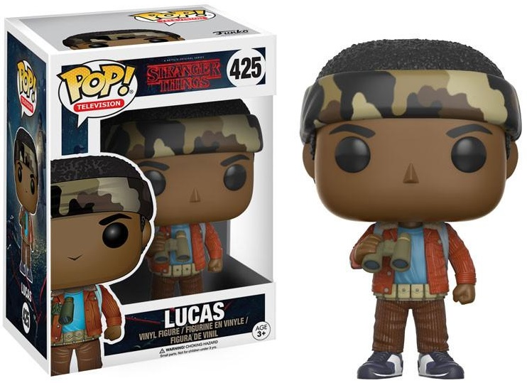 Фигурка Funko POP Television Stranger Things: Lucas (9,5 см) фигурка funko pop television stranger things eleven hospital gown 9 5 см