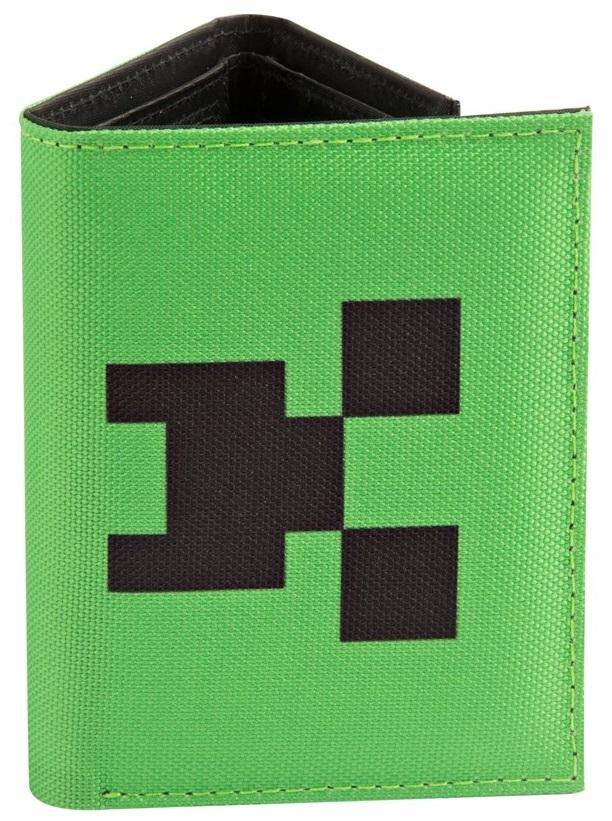 Кошелек Minecraft: Pocket Creeper Tri-FoldКошелек Minecraft: Pocket Creeper Tri-Fold создан по мотивам компьютерной игры с видом от первого лица Майнкрафт.<br>