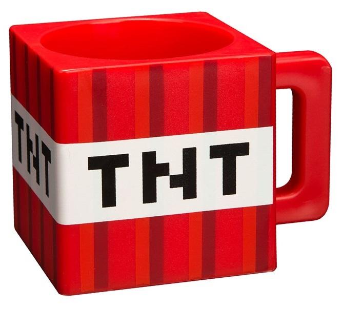 Кружка пластиковая Minecraft: TNTКружка пластиковая Minecraft: TNT создана по мотивам компьютерной игры с видом от первого лица Майнкрафт.<br>