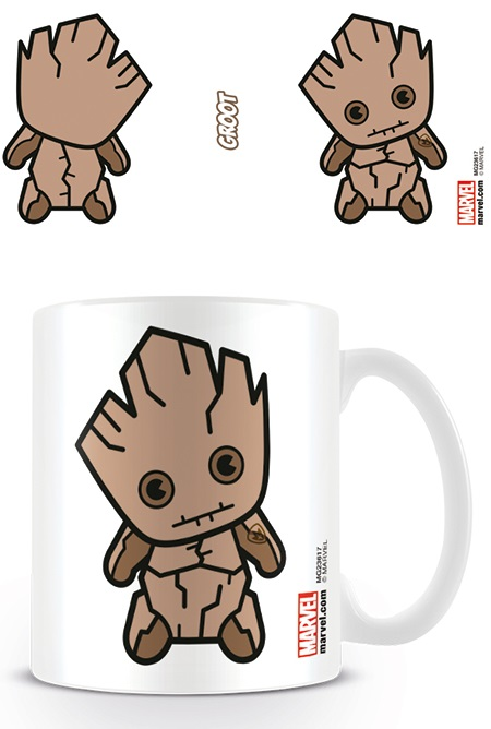 Кружка Guardians Of The Galaxy: Kawaii Groot White