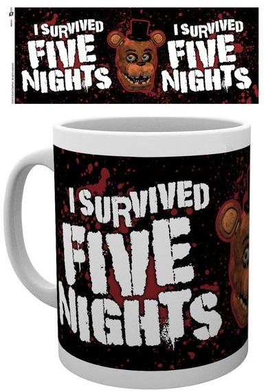 Кружка Five Nights At Freddys: I SurvivedКружка Five Nights At Freddy's: I Survived создана по мотивам компьютерной игры в жанре инди-хоррор Five Nights at Freddys (Пять ночей у Фредди).<br>