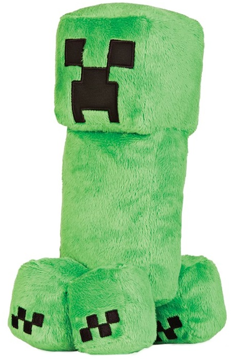Мягкая игрушка Minecraft: Creeper (30 см)