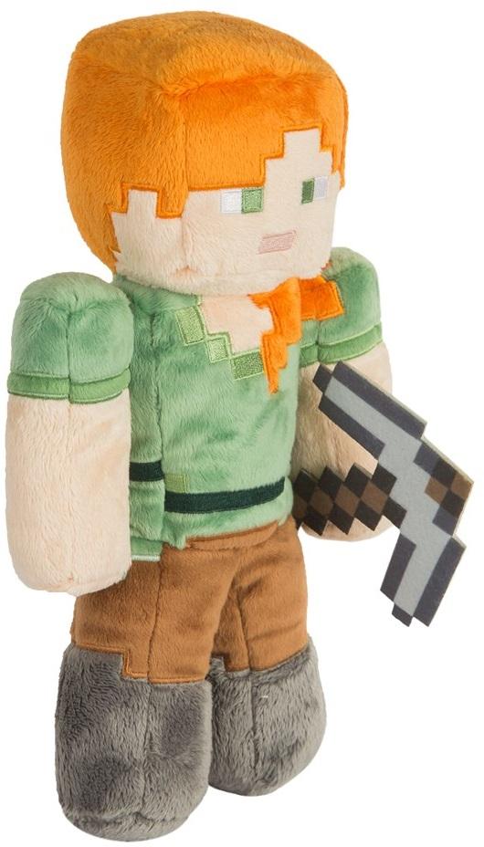 Мягкая игрушка Minecraft: Alex (30 см)Мягкая игрушка Minecraft: Alex воплощает собой одного из персонажей популярной компьютерной игры Майнкрафт.<br>