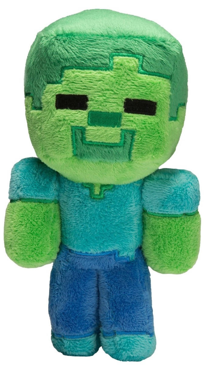 Мягкая игрушка Minecraft: Baby Zombie (22 см)Мягкая игрушка Minecraft: Baby Zombie воплощает собой одного из персонажей популярной компьютерной игры Майнкрафт.<br>