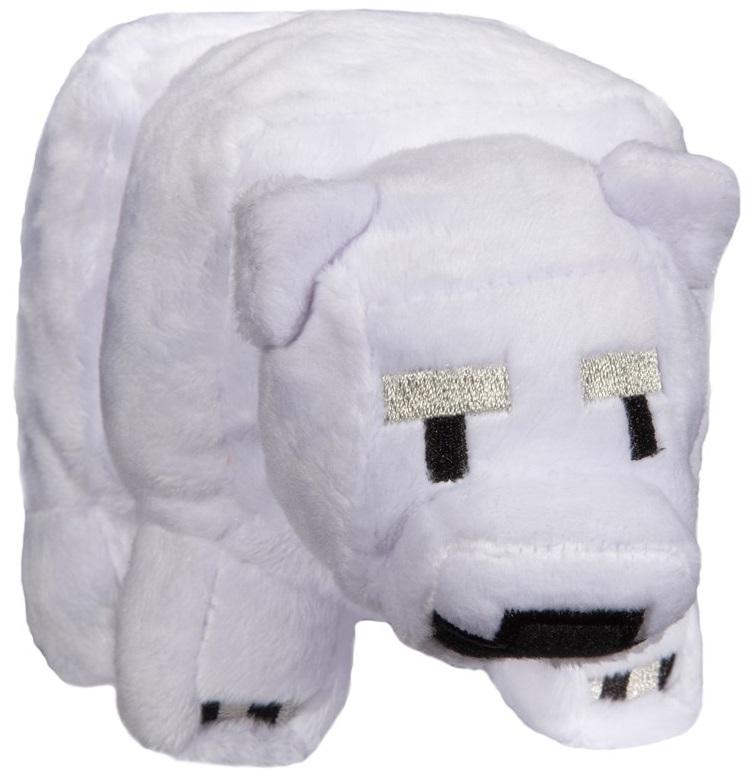 Мягкая игрушка Minecraft: Small Baby Polar Bear (18 см) стилус polar pp001