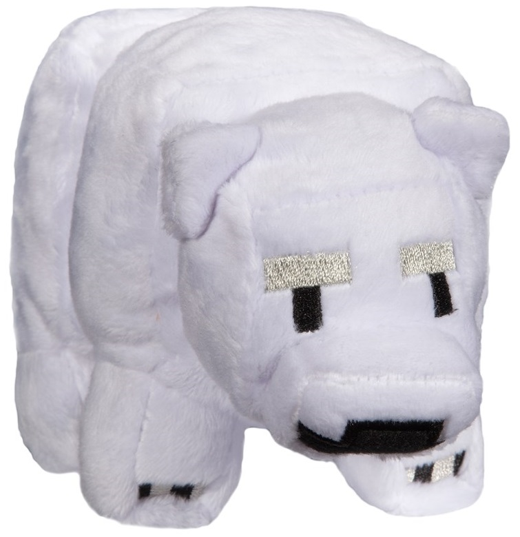 Мягкая игрушка Minecraft: Small Baby Polar Bear (18 см)