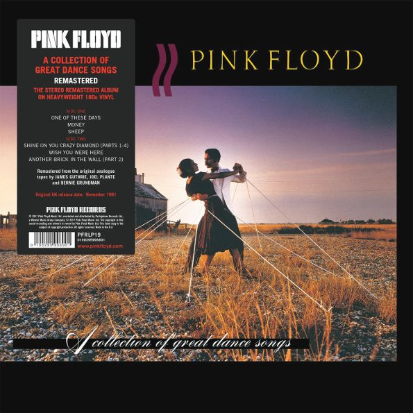 Pink Floyd – A Collection Of Great Dance Songs (LP) pink floyd meddle a classic album under review