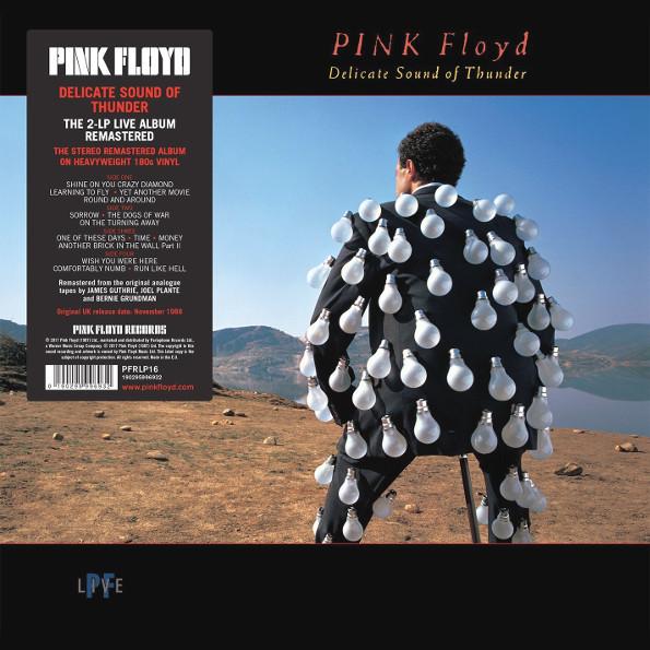Pink Floyd – Delicate Sound Of Thunder (2 LP)Delicate Sound Of Thunder – двойной концертный альбом английской рок-группы Pink Floyd, записанный во время концертов в августе 1988 года на стадионе Nassau Coliseum в США.<br>