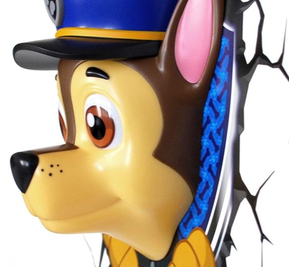 3D-Светильник Paw Patrol: ChaseБудьте оригинальны в выборе подарка! Если вы хотите преподнести нечто неординарное, то обратите внимание на 3D светильник от 3DLightFX, выполненный в виде Chase из мультфильма «Щенячий патруль».<br>