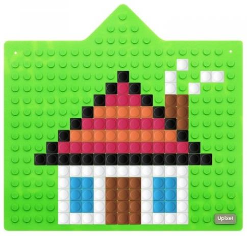 Интерактивная пиксельная панель Bright Kiddo WY-K001 (зеленый)