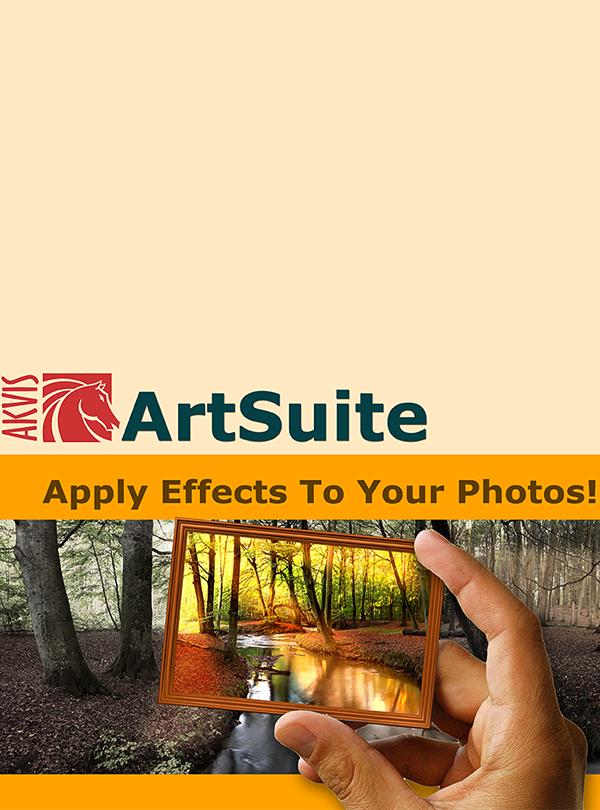 AKVIS ArtSuite Home Deluxe (Цифровая версия)AKVIS ArtSuite — программа для оформления фотографий. ArtSuite помогает придать фотографии оригинальный и праздничный вид. Программа позволяет создать поздравительную открытку, праздничный альбом, плакат или календарь, оформить изображение в рамку, превратить цветное современное фото в стилизованный черно-белый портрет и даже осуществить цветокоррекцию.<br>