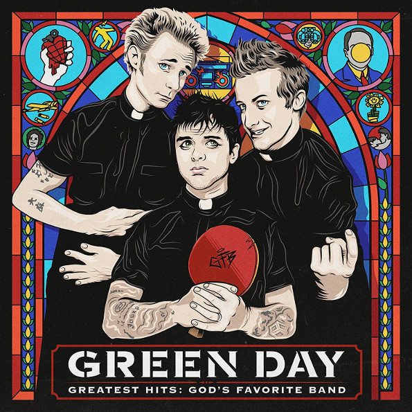 Green Day – Greatest Hits. God's Favorite Band (CD) элтон джон elton john greatest hits 1970 2002 2 cd