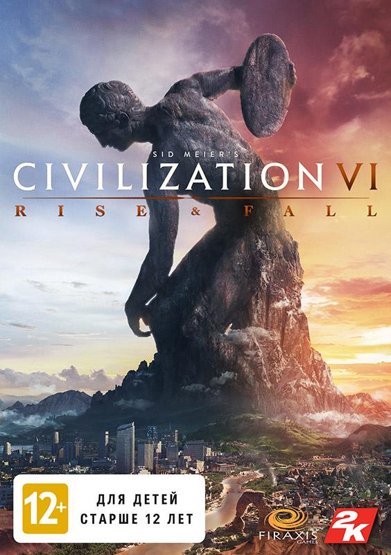 Sid Meiers Civilization VI. Rise and Fall. Дополнение [PC, Цифровая версия] (Цифровая версия)Civilization VI – это игра, в которой вам предстоит построить империю, способную выдержать испытание временем. Дополнение Rise and Fall привносит в нее новые возможности, стратегии и испытания для игроков, ведущих свою цивилизацию сквозь века.<br>