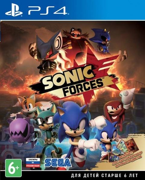 Sonic Forces [PS4]В игре Sonic Forces, злой гений доктор Роботник, прибегнув к помощи нового загадочного злодея по имени Вечность, покорил уже почти весь мир. Теперь ваша задача – помочь Сонику создать собственную армию, побороть хаос и спасти мир.<br>