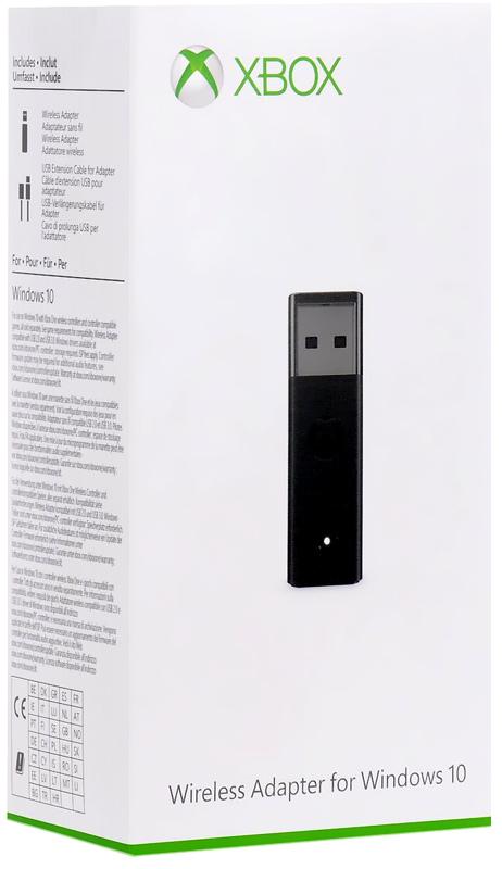 ПК адаптер для беспроводного геймпада Xbox One (6HN-00004)Брелок Xbox One Wireless Controller Adapter с USB-интерфейсом предназначен для использования контроллера Xbox One с Windows-компьютерами. Брелок совместим с ноутбуками, настольными компьютерами и планшетами под управлением операционной системы Windows 10.<br>