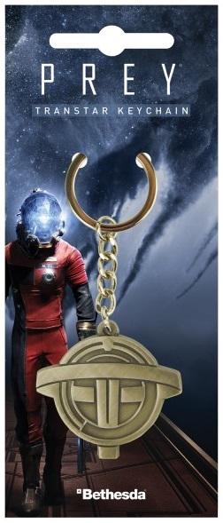 Брелок Prey: TranstarБрелок Prey: Transtar в виде логотипа научно-фантастической компьютерной игры в жанре шутера от первого лица.<br>