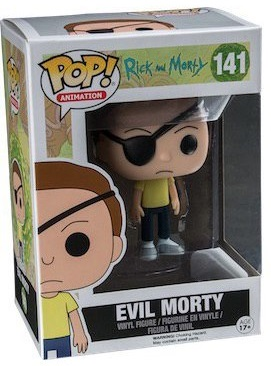 Фигурка Funko POP Animation Rick & Morty: Evil Morty (9,5 см) фигурка funko pop animation one piece portgas d ace 9 5 см