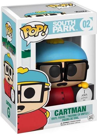 Фигурка Funko POP South Park: Cartman (9,5 см)Фигурка South Park: Cartman создана по мотивам американского мультсериала «Южный парк» и воплощает собой одного из персонажей.<br>