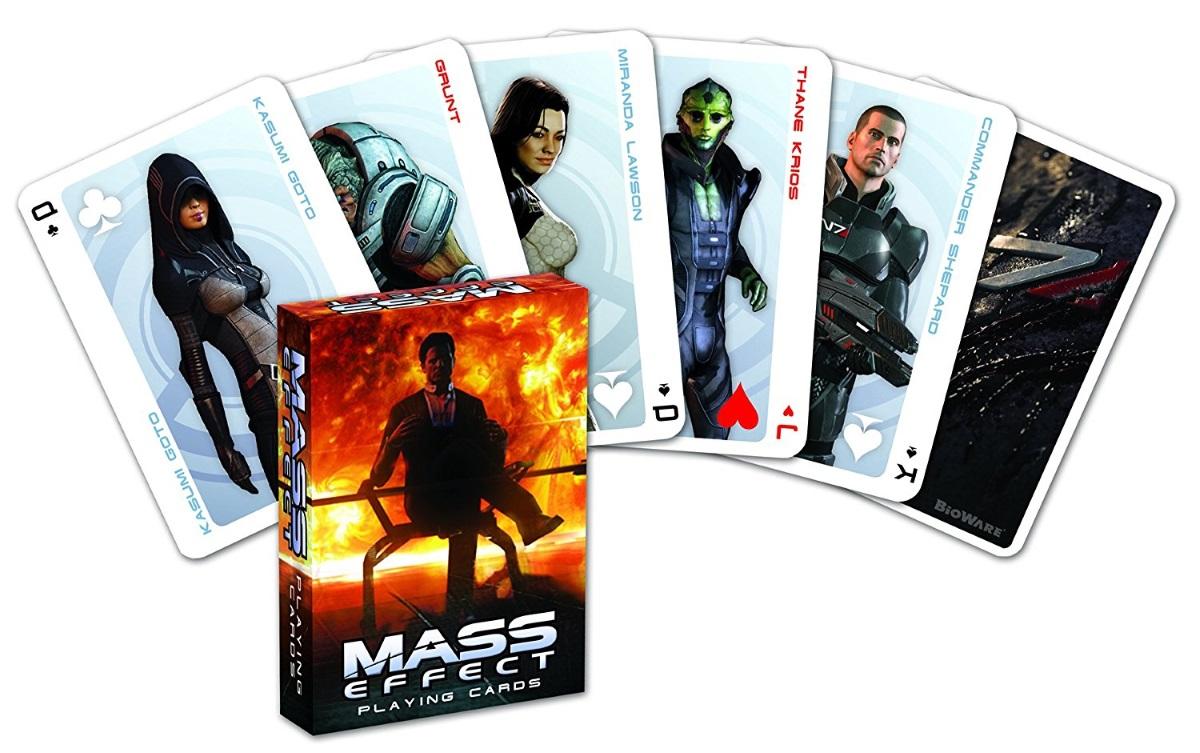 Карты игральные Mass EffectКарты игральные Mass Effect созданы по мотивам научно-фантастической видеоигры в жанре ролевого боевика.<br>