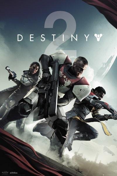 Плакат Destiny 2Плакат Destiny 2 создан по мотивам видеоигры в жанре научно-фантастического мультиплеерного шутера от первого и третьего лица.<br>