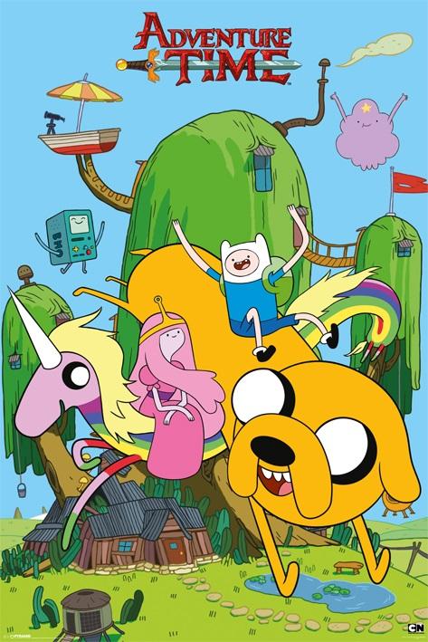 Плакат Adventure Time: HouseПлакат Adventure Time: House создан по мотивам популярного мультсериала «Время приключений».<br>