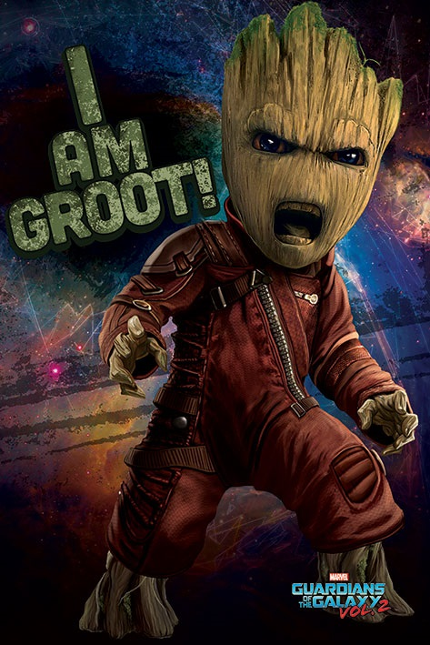 Плакат Guardians of the Galaxy: Angry Groot