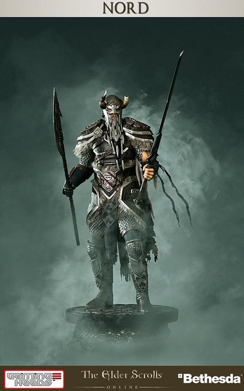 Статуя The Elder Scrolls Online Heroes Of Tamriel Nord (48 см)В игре The Elder Scrolls Online Heroes Of Tamriel Норды представлены как бесстрашная раса прирожденных воинов, которые вселяют страх в сердца своих врагов непревзойденным боевым мастерством. Родом из восточных районов Скайрима, норды являются одной из ведущих рас Пакта Эбонхарта. В шатком партнерстве с аргонианцами норды стремятся разгромить Империю и сохранить свою драгоценную родину.<br>