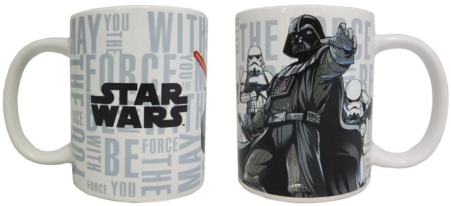 Кружка Звёздные войны: Да пребудет с тобой сила (350 мл)Кружка Звёздные войны: Да пребудет с тобой сила создана по мотивам популярной космической саги «Star Wars», на ней изображен Дарт Вейдер и Штурмовики.<br>