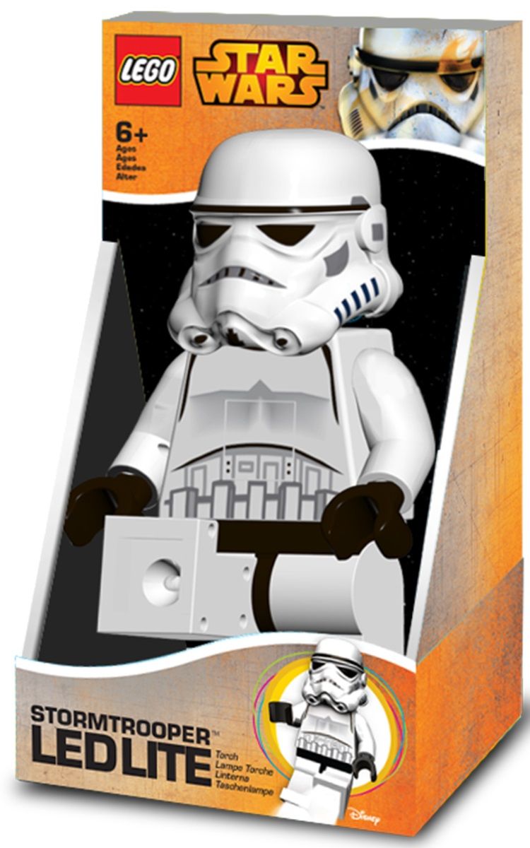 Фонарь LEGO Star Wars: StormtrooperФонарь LEGO Star Wars: Stormtrooper в виде Штурмовика создан по мотивам популярной космической саги «Star Wars», с ним никто вас не потревожит и не нарушит ваш сон.<br>