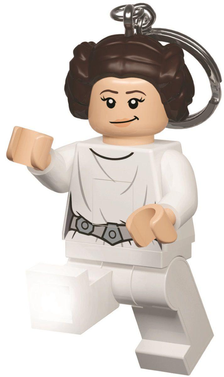Брелок-фонарик LEGO Star Wars: Princess LeiaБрелок-фонарик LEGO Star Wars: Princess Leia в виде принцессы Леи создан по мотивам популярной космической саги «Star Wars» и станет отличным дополнением к любимому конструктору.<br>