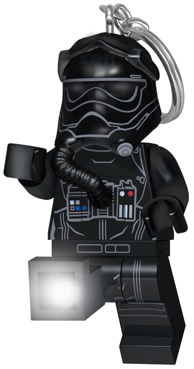 Брелок-фонарик LEGO Star Wars: First Order Tie Pilot lepin 05048 movie tie striker tie pilot trooper mobile building block bricks children for gift 75154