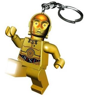 Брелок-фонарик LEGO Star Wars: C3POБрелок-фонарик LEGO Star Wars: C3PO в виде дроида C3PO создан по мотивам популярной космической саги «Star Wars» и станет отличным дополнением к любимому конструктору.<br>