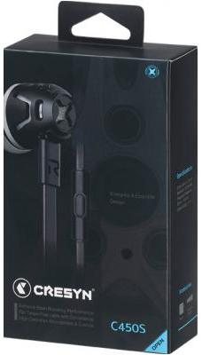 Гарнитура Phiaton by Cresyn C450S (черный)Если Вам требуются по-настоящему качественные и долговечные компактные наушники, то наушники Phiaton by Cresyn C450S – это именно та модель, которая Вам нужна.<br>