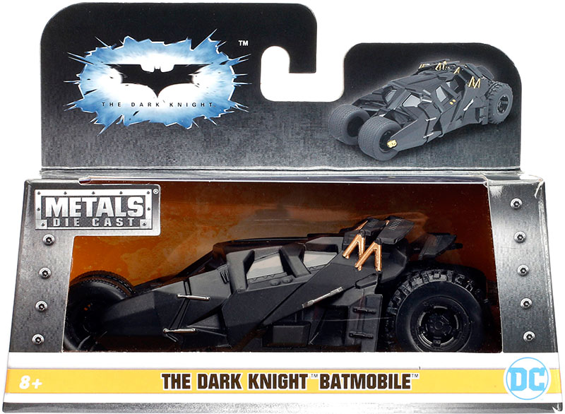 Набор Batmobile 2005 The Dark Knight Batmobile (1:32) hot wheels batman 3 pack cars includes bone shaker special the joker edition the dark knight batmobile and ford fusion
