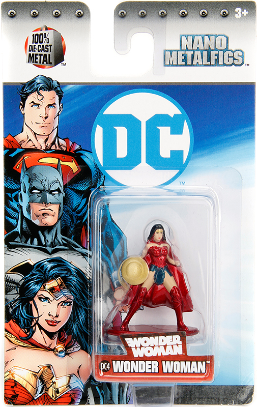 Фигурка Wonder Woman (4 см)Фигурка металлическая Wonder Woman, воплощает собой героинию вселенной DC Comics Чудо-женщину.<br>