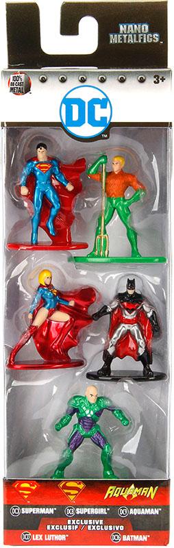 Набор фигурок DC 5-Pack 2 (4 см) набор фигурок dc comics batman wonder woman superman 3 в 1 17 см