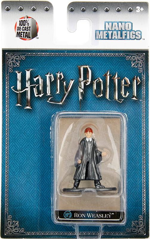 Фигурка Ron Year 1 (4 см)Фигурка металлическая Рона Уизли из фильмов о Гарри Поттере.<br>