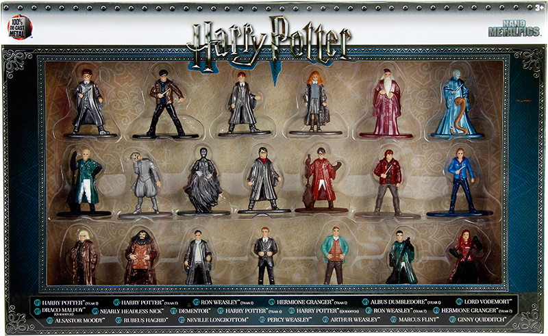 Набор фигурок Harry Potter 20-Pack (4 см)Набор металлических фигурок Harry Potter, воплощает собой персонажей волшебного мира Гарри Поттера.<br>