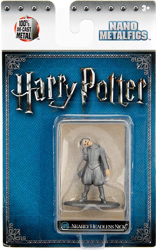 Фигурка Nick (4 см)Фигурка металлическая Почти Безголового Ника, персонажа из серии фильмов, основанных на романах о Гарри Поттере английской писательницы Дж. К. Роулинг.<br>