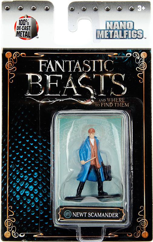 Фигурка Newt Scamander (4 см)Фигурка металлическая Newt Scamander, воплощает собой героя художественного фильма «Фантастические твари и где они обитают».<br>