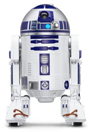 Интерактивный дроид Star Wars: R2D2Интерактивный дроид Star Wars: R2D2 – это беспроводной робот-игрушка от Sphero, сделанный в виде дроида-астромеханика из вселенной «Звездных Войн».<br>