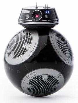 Интерактивный дроид Star Wars: BB-9EИнтерактивный дроид Star Wars: BB-9E – зловещий дроид-астромеханик, принадлежавший Первому ордену. Вы можете управлять им с помощью устройства с iOS/Android и обеспечивать точность движений, используя модуль обучения Droid Trainer на основе дополненной реальности.<br>