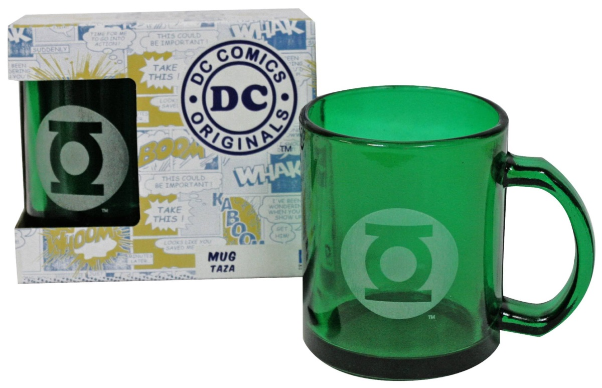 Прозрачная кружка Зеленый фонарь (зеленая)Прозрачная кружка Зеленый фонарь создан по мотивам комиксов вселенной издательства DC, на ней изображен логотип одного из самых известных супергероев – Зеленого фонаря.<br>