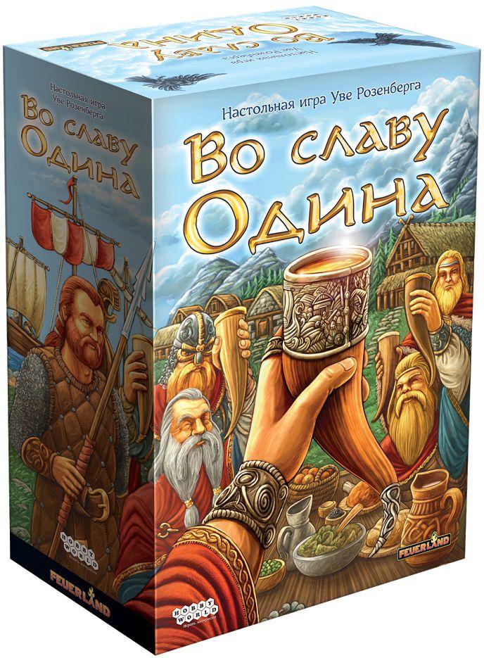 Настольная игра Во славу ОдинаВ настольной игре Во славу Одина вы окунётесь в атмосферу быта суровых скандинавских мореходов.<br>