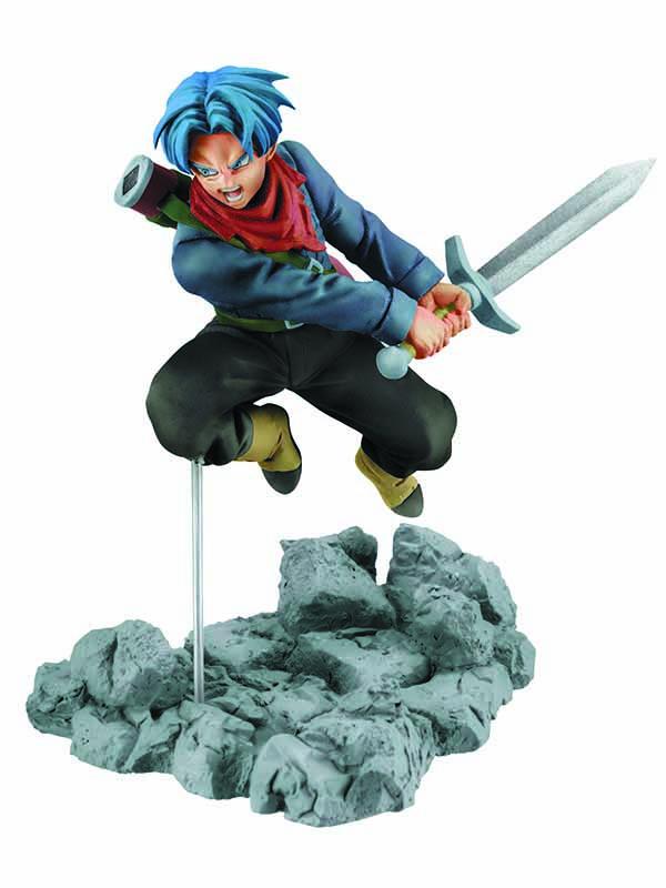 Фигурка Dragon Ball Z Trunks Soul X Soul (8 см)Транкс  &amp;ndash; полусайян, сын Булмы и Веджеты, брат Бра и один из лучших Зет Бойцов в Dragon Ball.<br>