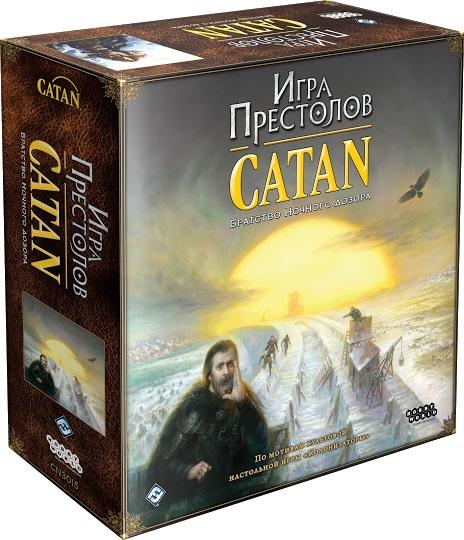 Настольная игра Игра престолов: CatanПеред вами легендарная настольная игра Игра престолов: Catan – это «Колонизаторы» в сеттинге «Игры престолов» и с переработанными правилами.<br>